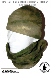 0241 A-TACS FG Cold Weather Neck Gaiter | Tactical-Kit