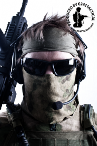 0241 Tactical A-TACS FG Neck Gaiter Cotton Jersey | Tactical-Kit