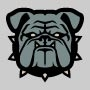 Bulldog Head Patch