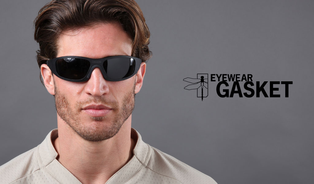 strategic liquid gasket eyewear