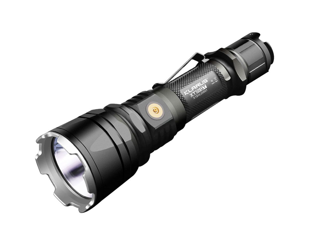 Klarus Xt12gt Tactical Flashlight 1600 Lumen