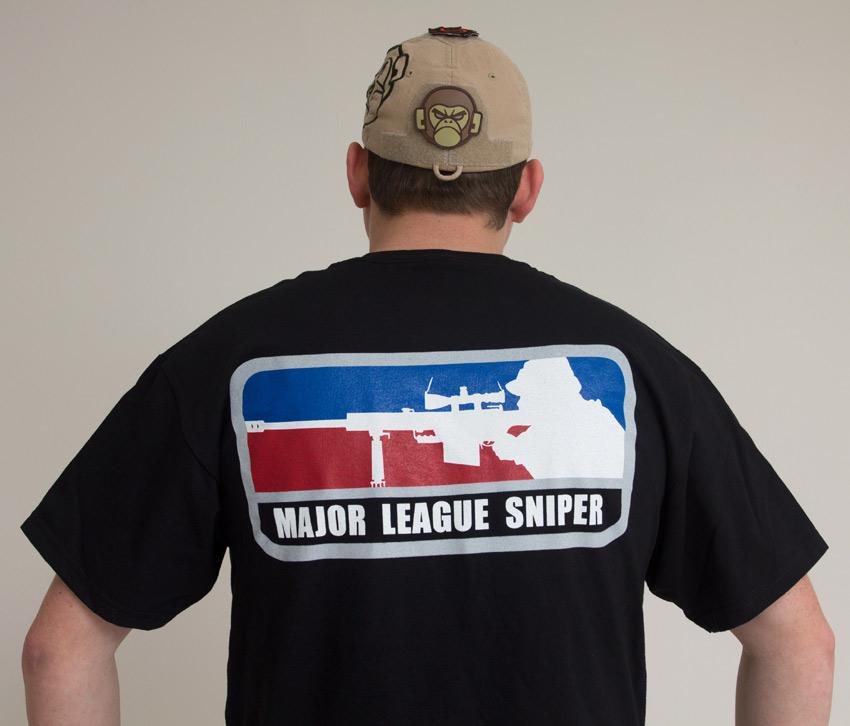 Hard Feelings Major League: Mil-Spec Monkey Major League Sniper T-shirt