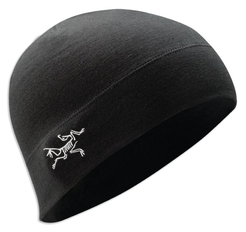 Arc Teryx RHO LTW Beanie Black  ee872520ec9