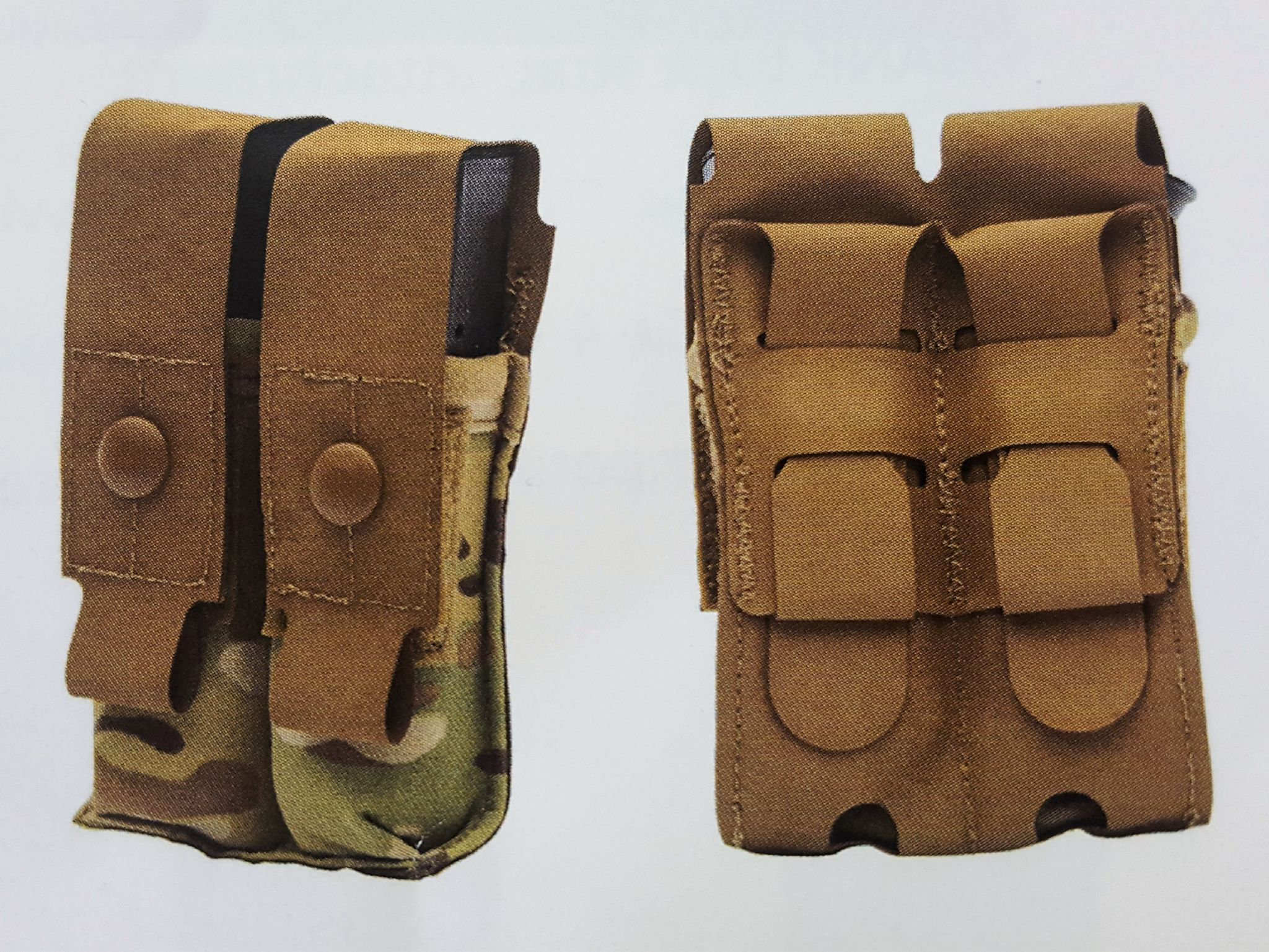 2527caa46bbf Eagle Industries Double M9 Magazine Pouch Flapped HTS Style