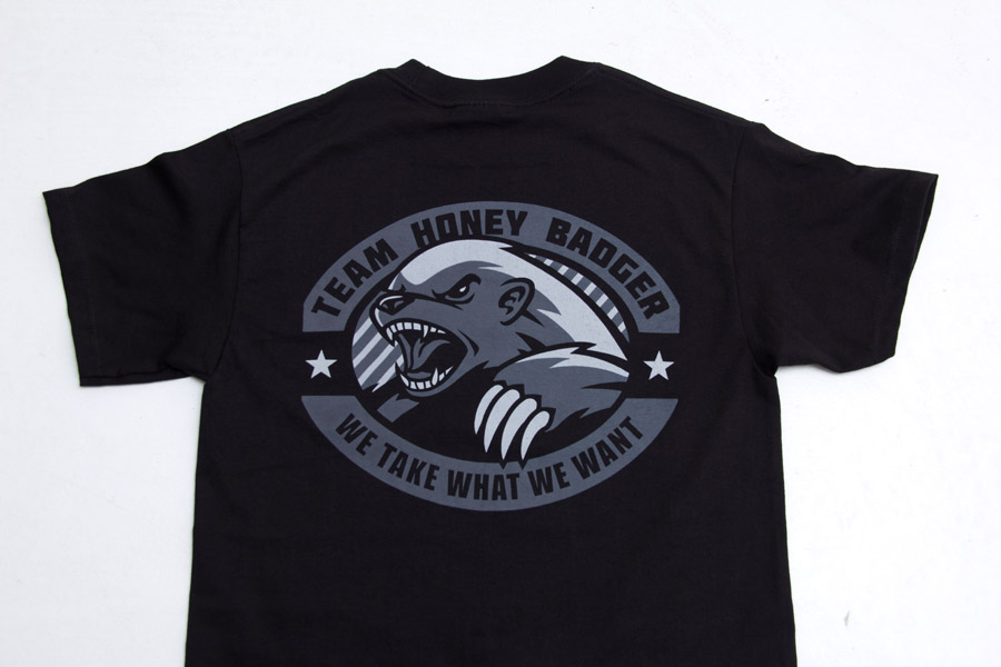 4ee1a219 ... Mil Spec Monkey Black Honey Badger T shirt Tactical Kit