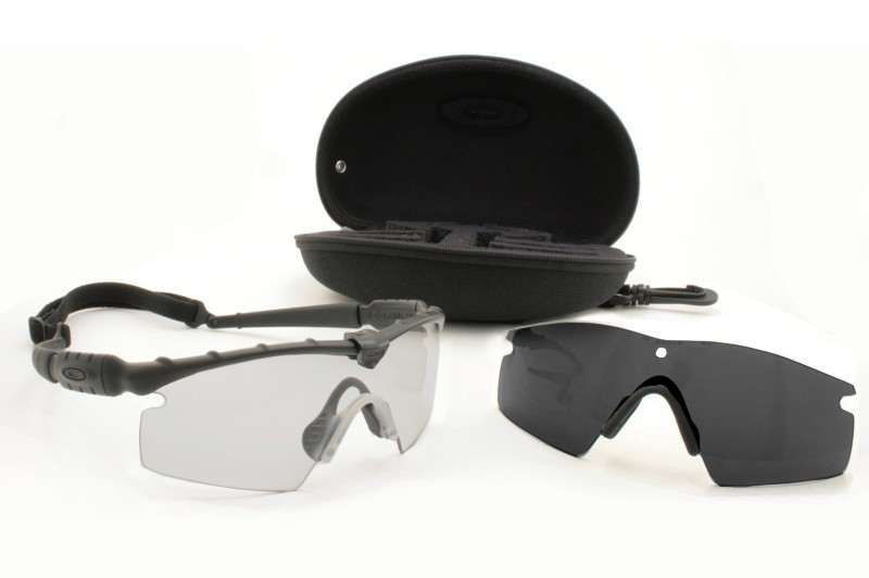 Oakley SI Ballistic M Frame Strike Array Set Black Frame W/Grey ...