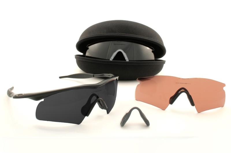 1d07029190 Oakley SI M Frame Strike Array Set Black Frame W Grey VR28   Clear ...