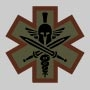 Tactical Medic - Spartan  Patch